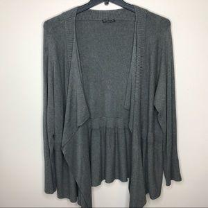 Eileen Fisher Woman Soft Gray Cardigan 3X